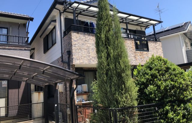 外壁塗装・付帯部塗装・シーリング打ち替え 藤沢市 E様邸