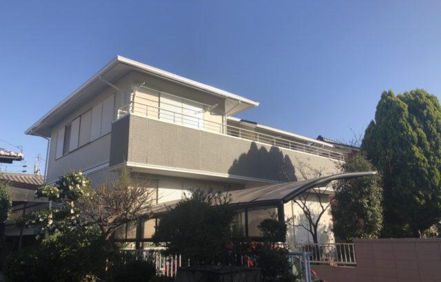 屋根塗装・外壁塗装・付帯部塗装・シーリング工事 茅ヶ崎市 K様邸