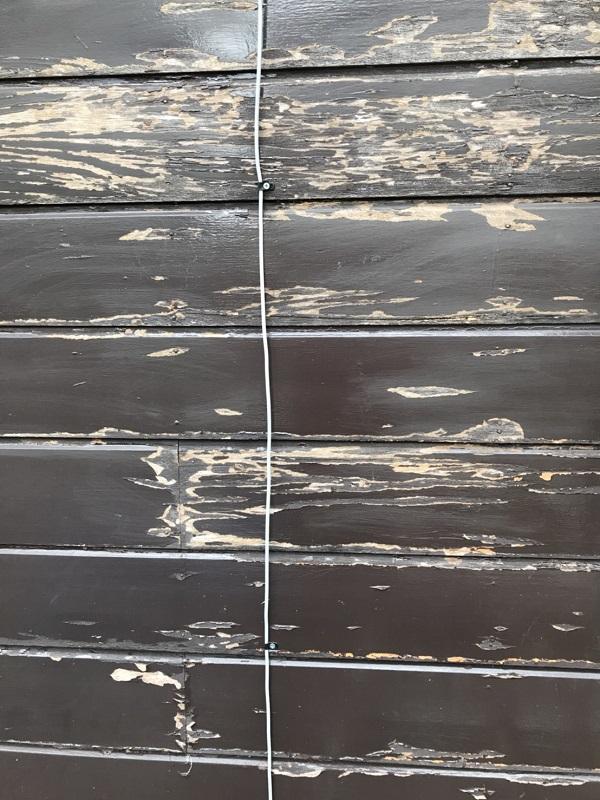 神奈川県藤沢市 外壁塗装 事前調査 木造外壁