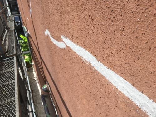 神奈川県茅ヶ崎市 外壁塗装 モルタル外壁 ひび割れ補修 クラック補修