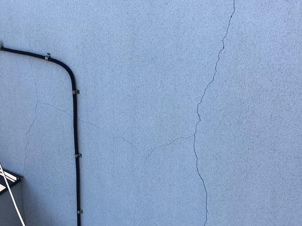 神奈川県茅ヶ崎市 外壁塗装 安さの理由 事前調査 症状 クラック