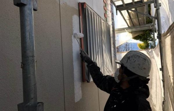 神奈川県茅ヶ崎市 外壁塗装 屋根塗装 下塗りの役割 セミフロンⅡシリーズ