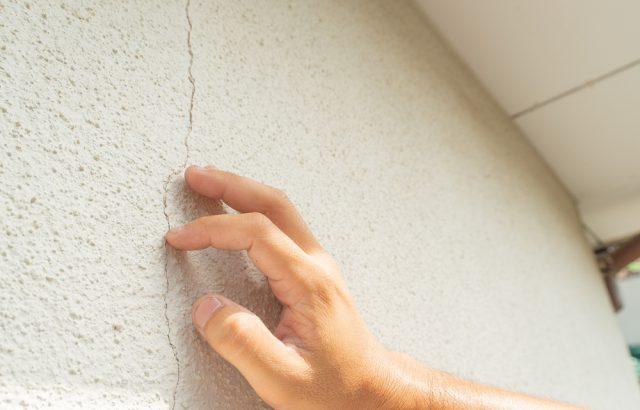 神奈川県茅ヶ崎市 外壁塗装 下地処理 クラック補修
