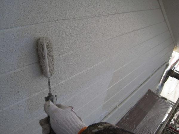 神奈川県茅ヶ崎市 外壁塗装 エスケー化研 プレミアムシリコン ラジカル制御式 塗装施工写真