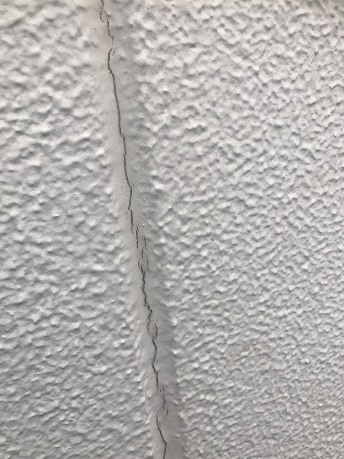 神流川県藤沢市 外壁塗装 外壁のヒビの画像