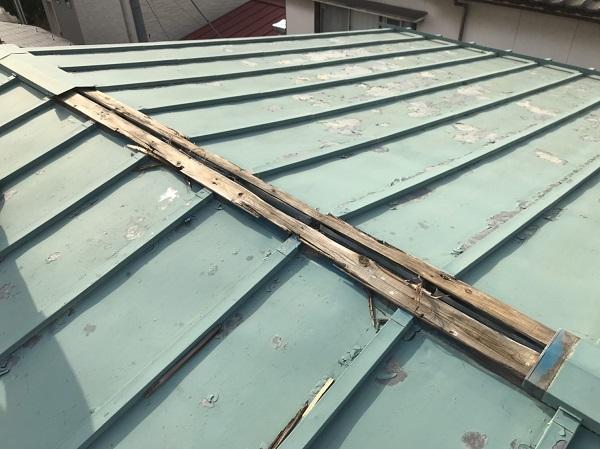 神奈川県藤沢市 屋根塗装 無料診断 見積もり 亜鉛の屋根 (1)