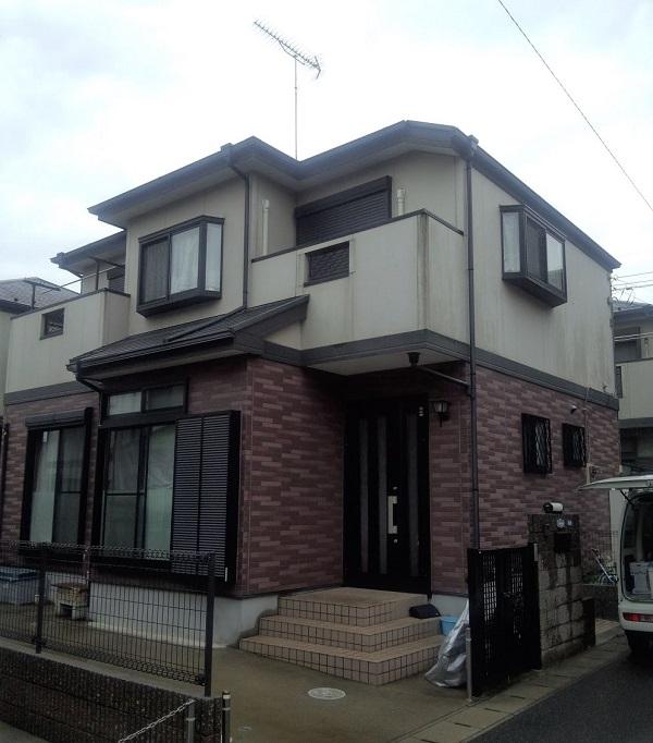 神奈川県茅ヶ崎市 外壁塗装 無料診断 劣化症状 ひび割れ