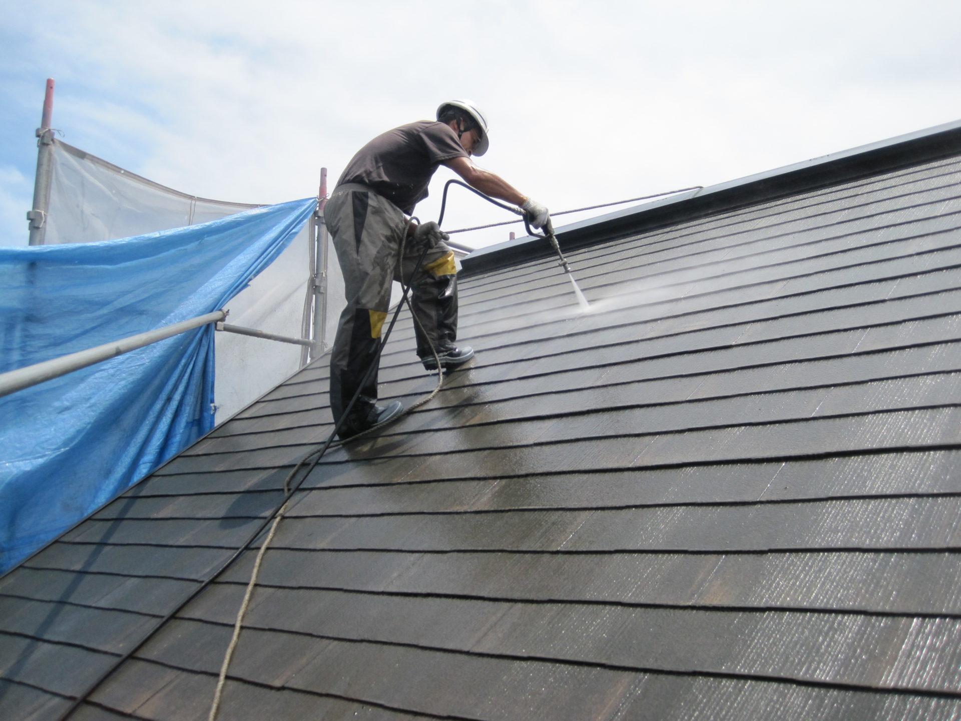神奈川県平塚市 外壁塗装 屋根塗装 高圧洗浄の画像