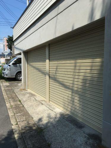 神奈川県藤沢市 シャッターの写真